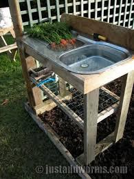 best 25 garden sink ideas on outdoor garden sink