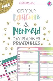 monthly day planner template best 20 printable planner pages ideas on pinterest planner get your free unicorn mermaid day planner printables