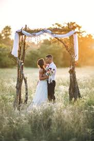 wedding arches made of branches 36 wood wedding arches arbors and altars weddingomania
