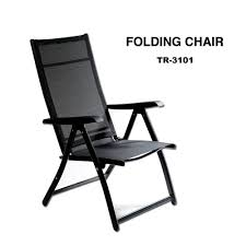 heavy duty durable adjustable reclining folding chair outdoor