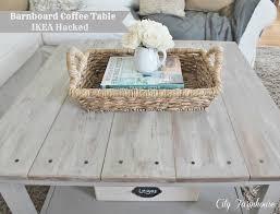 ikea hacks coffee table ikea hacked barnboard coffee table tutorial city farmhouse