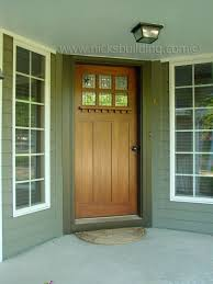 craftsman style house mission doors arts and craft doors of