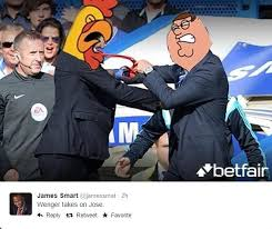 Mourinho Meme - all the hilarious memes after wenger and mourinho nearly came to blows