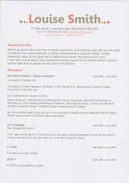 Resume Personal Profile Example by Cv Personal Statement Help