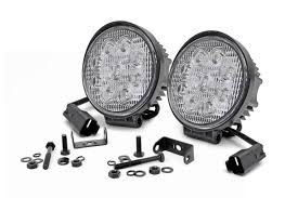 4 inch round led lights 4 inch led round lights 70804 rough country suspension systems