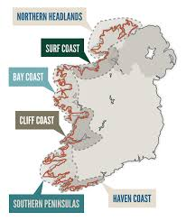 Blank Map Of The West Region by Wild Atlantic Way Official Travel Site Discover Things To See And Do