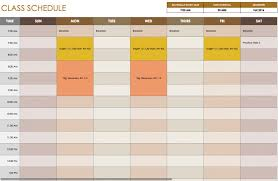 free daily schedule templates for excel smartsheet hourly timeline