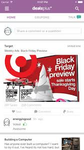 black friday app store deals dealsplus coupons weekly ads u0026 deals on the app store