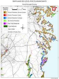Williamsburg Virginia Map by Sea Level Rise Planning Maps