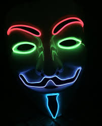 anonymous mask anonymous mask multicolour cool mania