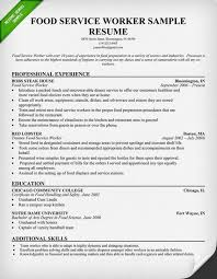 waiter resume sample sample resume food service worker food service waitress waiter