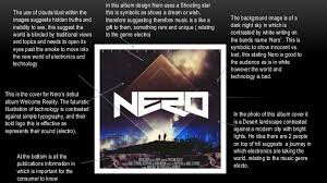 Blinded By The Light Nero Nero Album Design Analsis