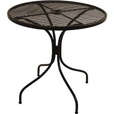 Wrought Iron Bistro Table Arlington House Wrought Bistro Table Walmart