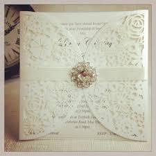wedding invitation ideas elegant white pocket wedding invitations