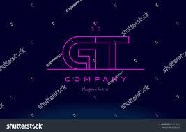 gt g t letter alphabet text stock vector 631013873 shutterstock