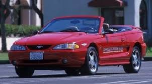 1995 Mustang Black We Love Ford U0027s Past Present And Future 1994 1998 Ford Mustang