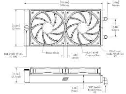 mcr h220 radiator series rouchon industries inc dba swiftech