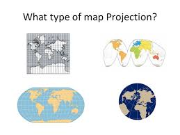 what is a map projection thinking geographically overview ppt