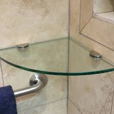 Glass Shelves For Bathrooms Glass Shelves For Shower Corner Shelf For Bathrooms Glass