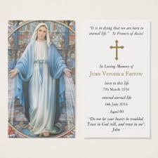 funeral prayer cards hestia prayer card zazzle