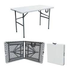 4 foot fold in half table lifetime adjustable leg folding table 80218 4 foot trade show table