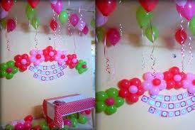 Balloon Decorations Ideas Home Design For Birthdays Decoration