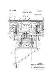 patent us3151429 self propelled swather google patents
