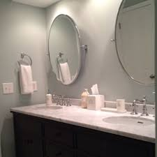 oval vanity mirrors for bathroom having appealing photographs as