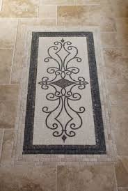 tile floor medallion design ideas pictures remodel and decor