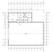 Shop Floor Plans Lary U0027s Farm Shop With Living Quarters Morton Buildings 3747