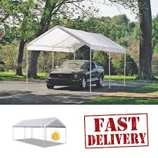 10x20 Garage Caravan Canopy Carport 10x20 U0027 Water Resistant Portable Garage