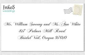 how to address wedding invitations without inner envelope how to properly address wedding invitations unique wedding ideas