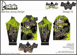 motocross gear uk custom downhill mtb mx race jerseys bad ace race plates jersey