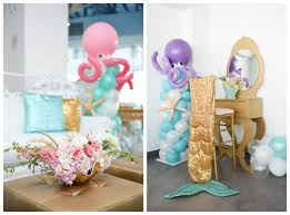 mermaid party ideas mermaid birthday party pretty my party
