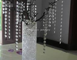 new wedding decoration clear acrylic octagonal bead