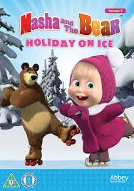 masha bear holiday ice dvd amazon uk dvd u0026 blu ray