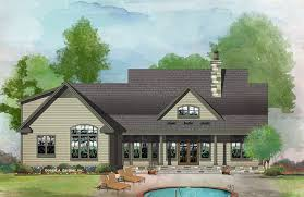 Don Gardner Butler Ridge House Plan The Sawyer By Donald A Gardner Architects