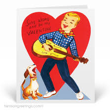retro valentines vintage retro s day card val136 harrison greetings