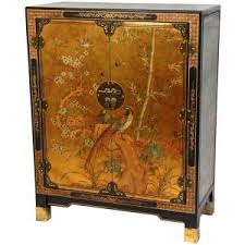 Oriental Sideboards Oriental Furniture Black Lacquer Japanese Slant Front Cabinet Lcq
