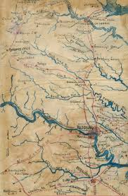 Alexandria Va Map Virginia Railroads At The Start Of The Civil War
