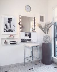 Wall Mounted Bedroom Vanity 118 Best Wall Mounted Makeup Organizers Images On Pinterest