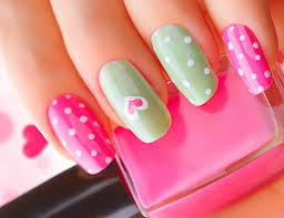 cute nail designs give your inner the brush and let her have