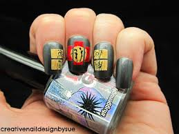 creative nail design by sue digit al dozen does art wooden panels