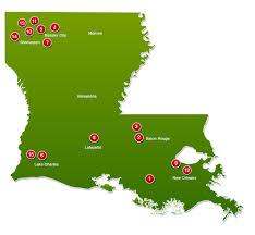 map of baton louisiana casino member map la casino association