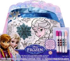 disney frozen colour u0027 style fashion purse activity walmart
