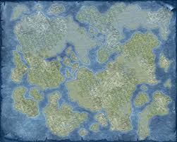 Fantasy World Maps by Blank World Map 1 By Thedasscholar On Deviantart