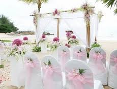 Wholesale Wedding Decorations Wedding Supplies Satin Fabric Centerpieces Glass Candle Holders