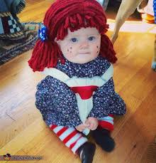 Raggedy Ann Andy Halloween Costumes Adults Diy Raggedy Ann Baby Halloween Costume