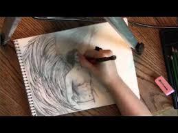 drawing long flowy angel wings youtube