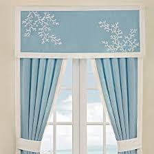 Blue Curtain Valance Harbor House Coastline 48